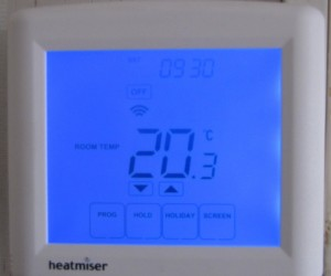 Heatmiser PRT-TS WiFi thermostat